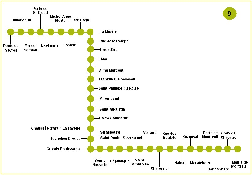 viajar a paris metro de par s mapa del metro de par s. Black Bedroom Furniture Sets. Home Design Ideas