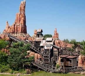 Big Thunder Mountain, Frontierland - Disneyland Par�s