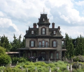 Phantom Manor, Frontierland - Disneyland Par�s