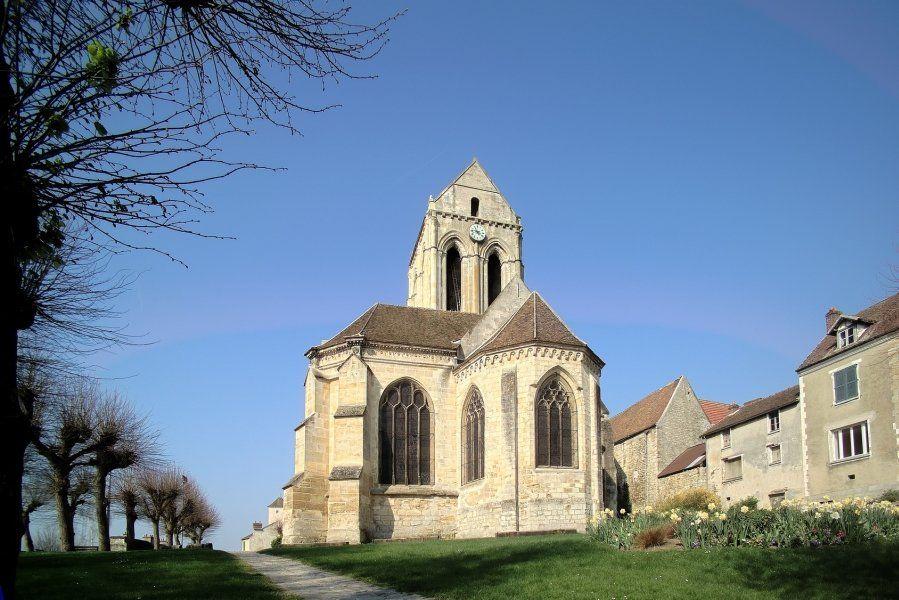 Iglesia de Notre Dame de Auvers-sur-Oise
