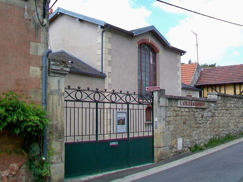 Casa-Taller de Daubigny, Auvers-sur-Oise. Wikimedia Commons, autor PPoschadel