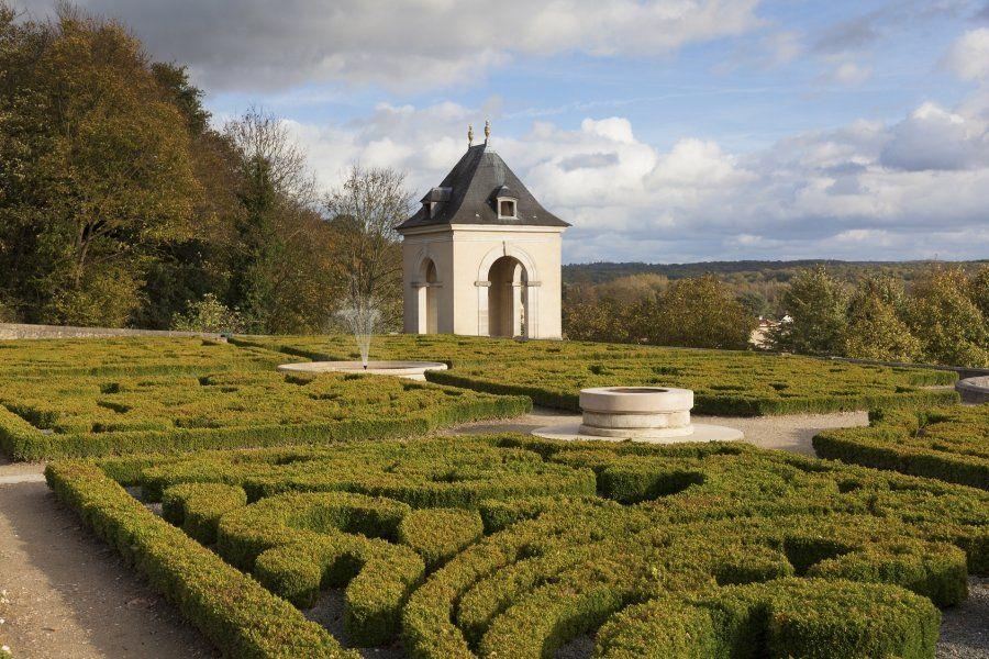 Jardines del Castillo de Auvers-sur-Oise