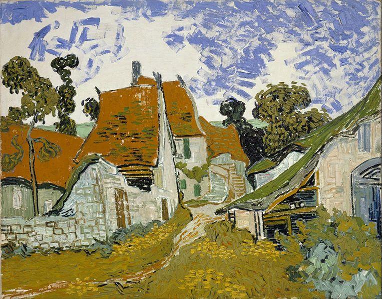 Auvers-sur-Oise, Vinvent Van  Gogh