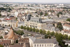 Vista de Chartres desde Notre Dame