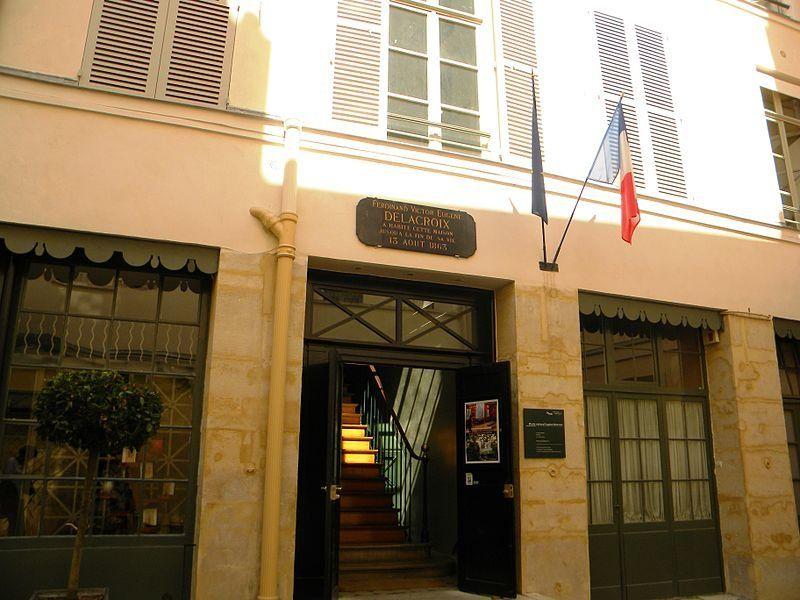 Museo Eugène Delacroix, Wikimedia Commons. Autor Britchi Mirela