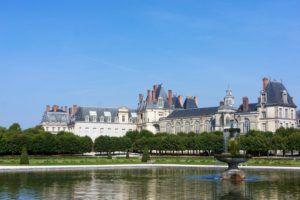 Patio de la Fuente, Palacio de Fontainebleau