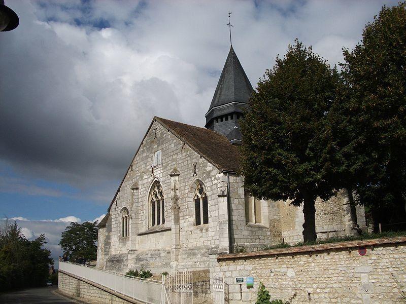 Iglesia de Sainte - Radegonde, Giverny