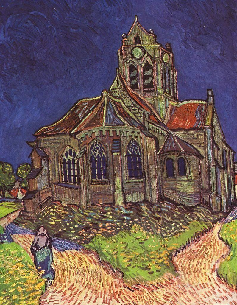 Van Gogh, Iglesia de Notre Dame de Auvers-sur-Oise