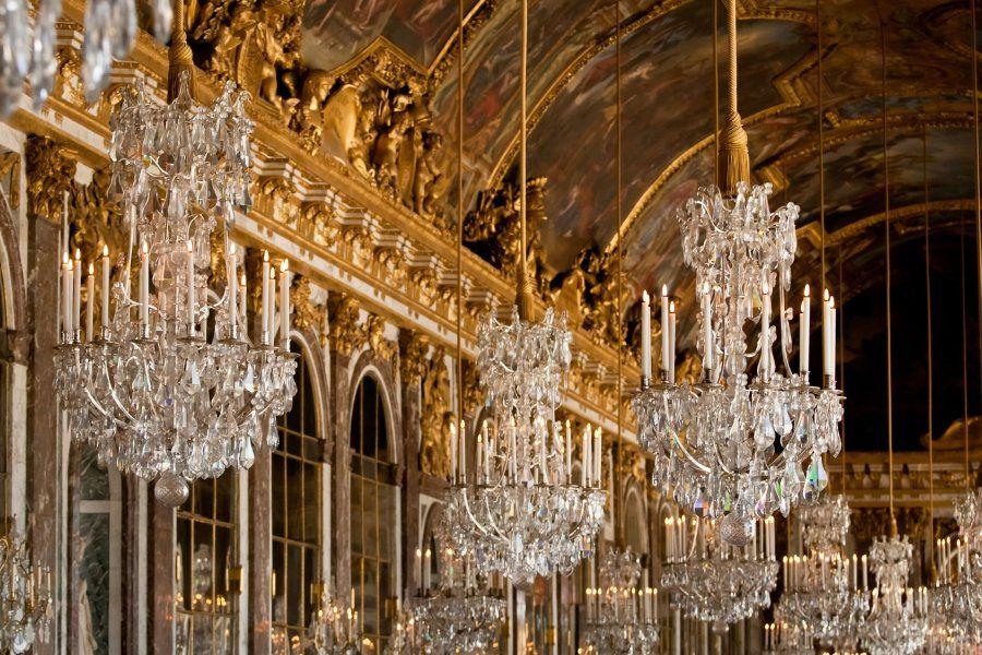 Galería de los Espejos, Palacio de Versalles