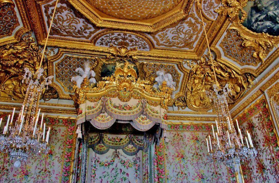 Cámara de María Antonieta, Palacio de Versalles