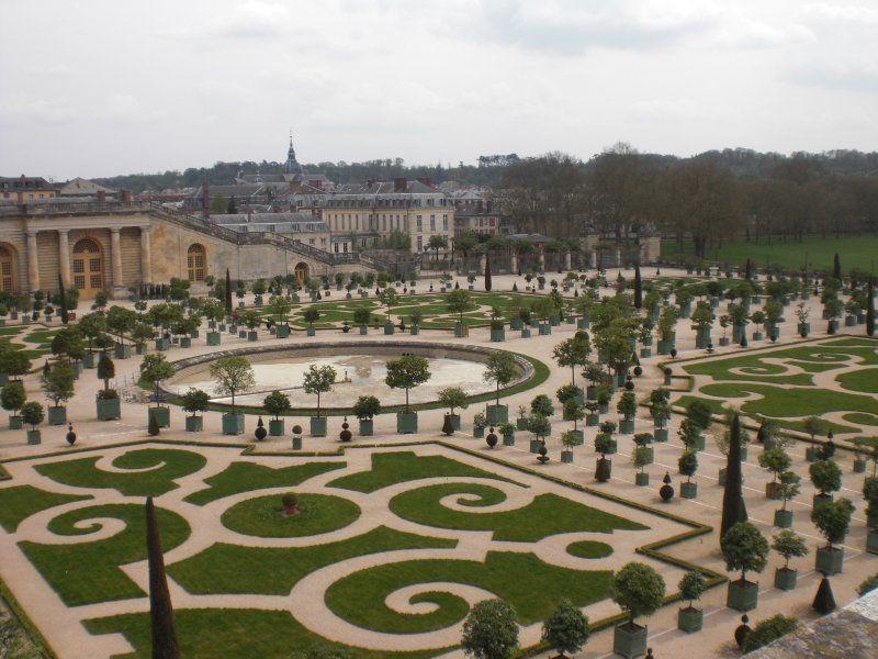 Jardines, Palacio de Versalles
