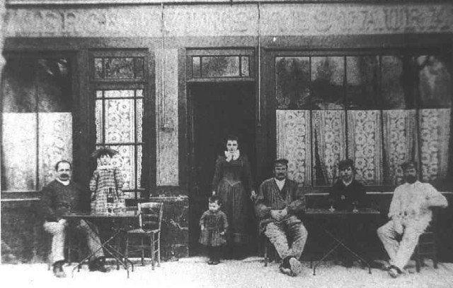 Hostal Ravoux en 1890, Auvers-sur-Oise