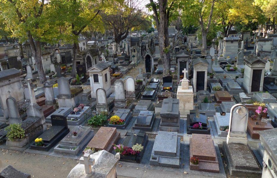 Resultado de imagen de cementerio de paris