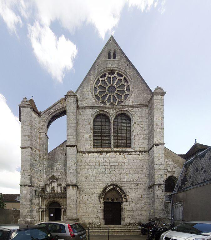 Iglesia de Saint Aignan, Chartres. Wikimedia Commons, autor Poulpy