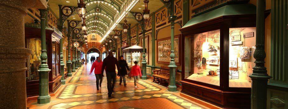 Discovery Arcade © Disney
