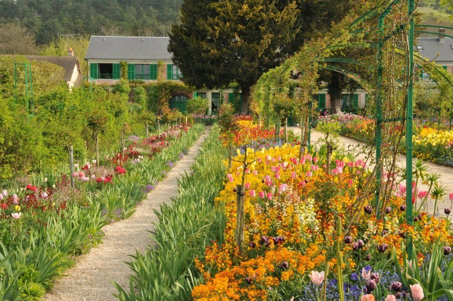 Viajar a paris conocer giverny for Jardines monet