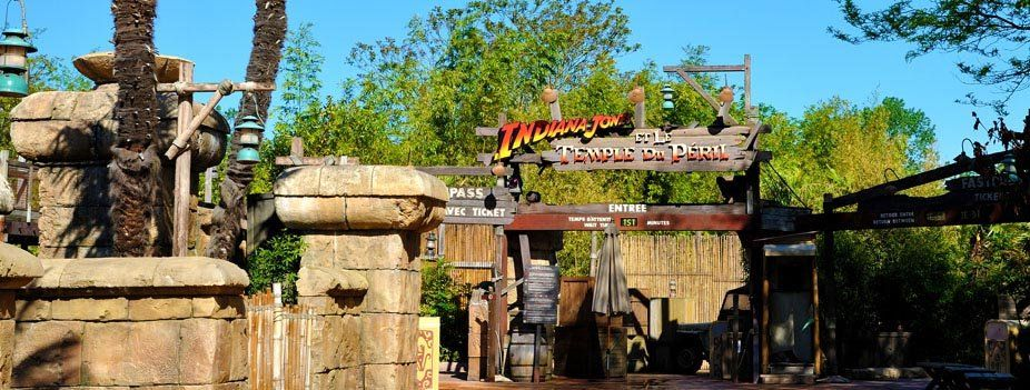 Indiana Jones™ and the Temple of Peril © Disney