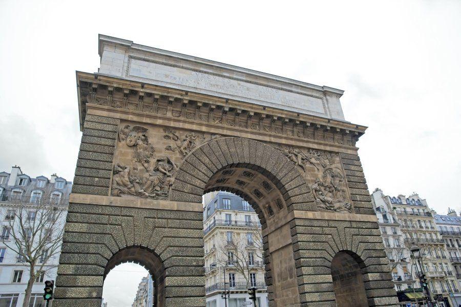 Viajar a paris plaza de la rep blica de par s for Porte saint martin