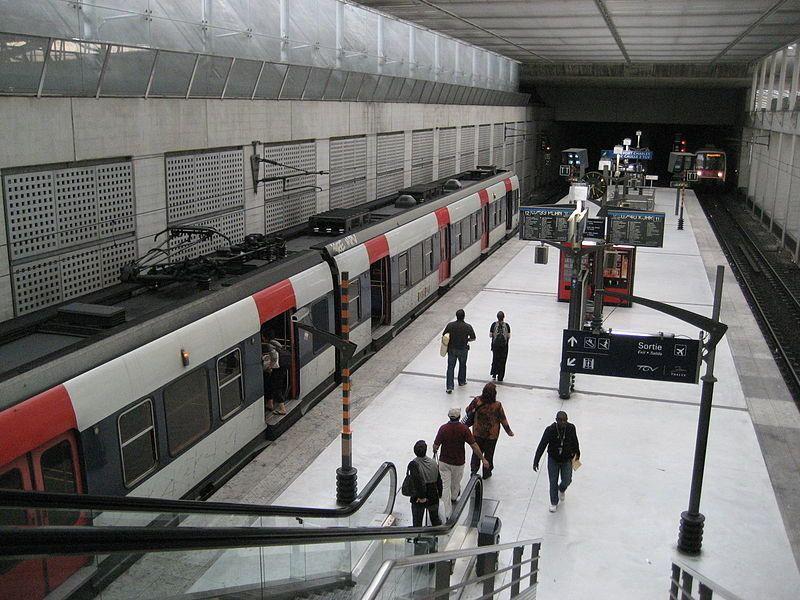 RER París