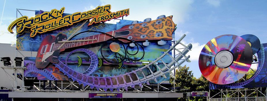 Rock 'n' Roller Coaster starring Aerosmith © Disney